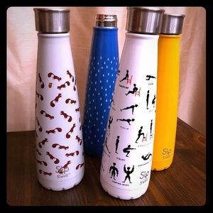 4 Swell Water Bottles Sip By Swell Brand 15 Oz Lot